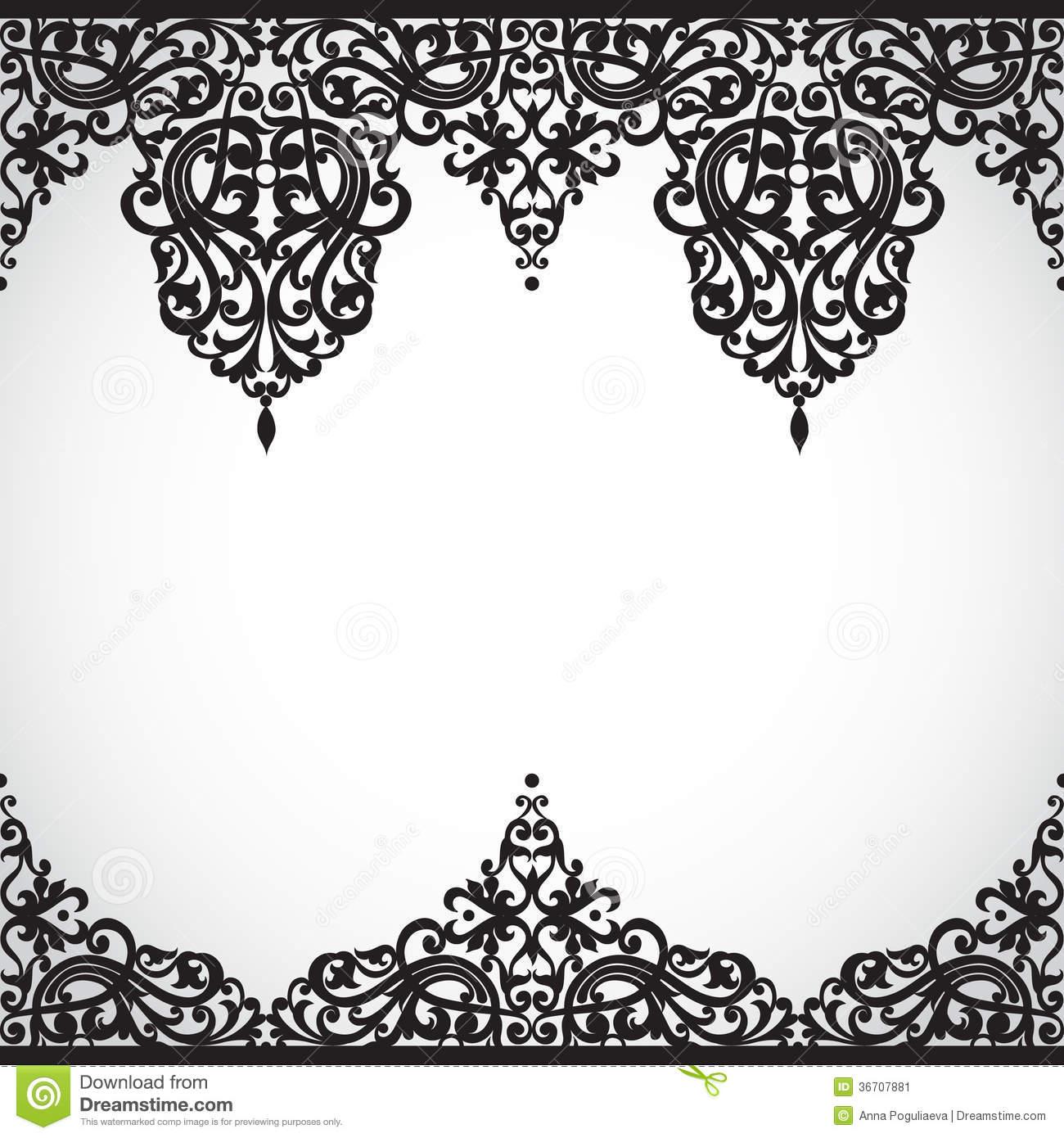 Victorian Frame Border Design