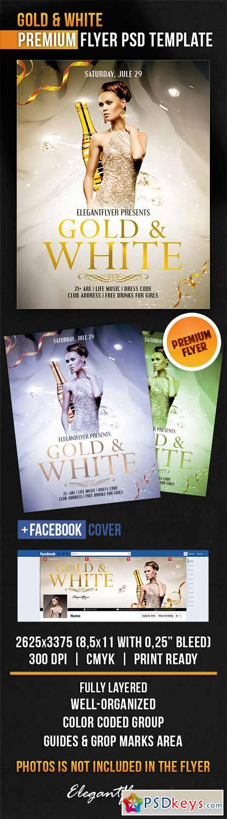 psd black white and gold flyers people davidjoel co