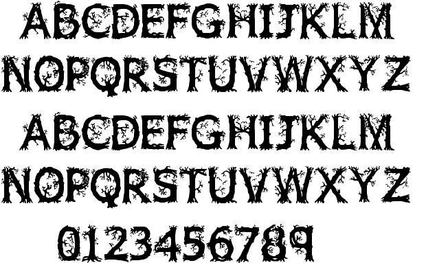 18 Firewood Font Download Images