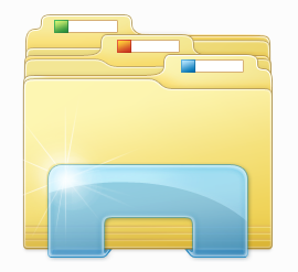 14 CRM Document Folder Icon Windows Images