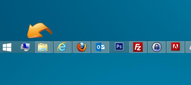 15 Taskbar Desktop Icon Images