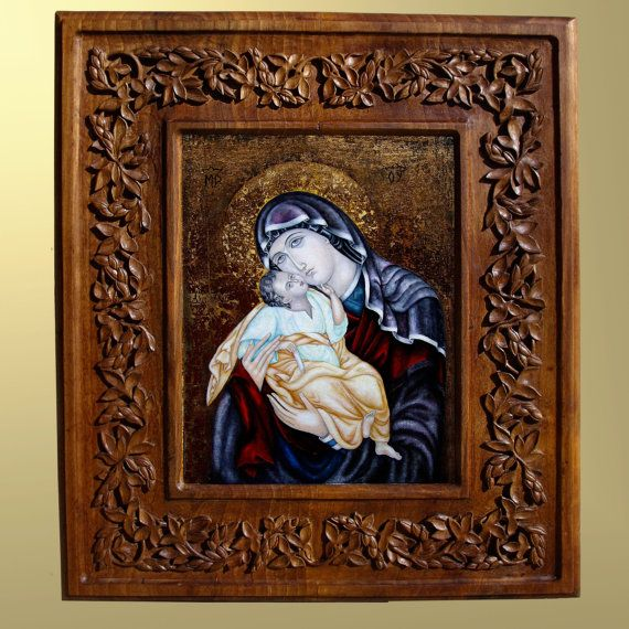 8 Wooden Religious Icons Images
