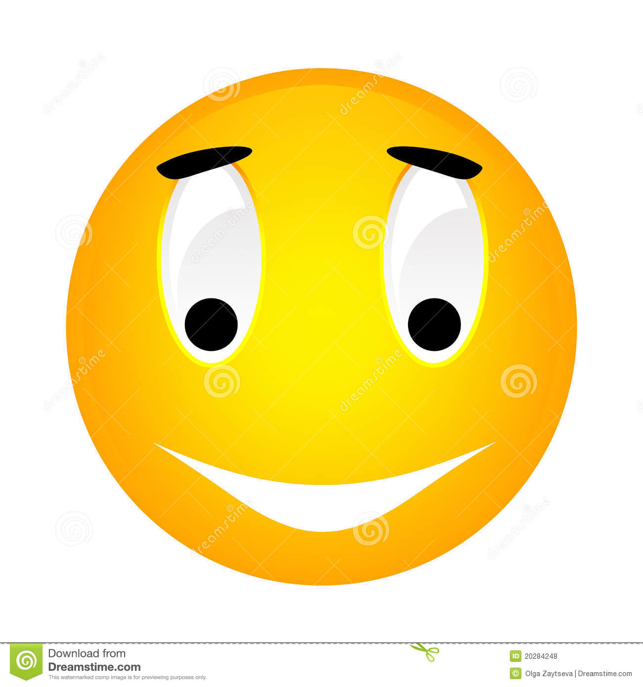 Yellow Smiley Emoticon