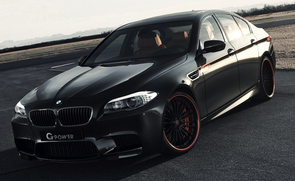 2012 BMW M5 Black On Black