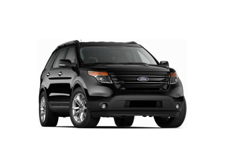 2014 Ford Explorer Limited Black