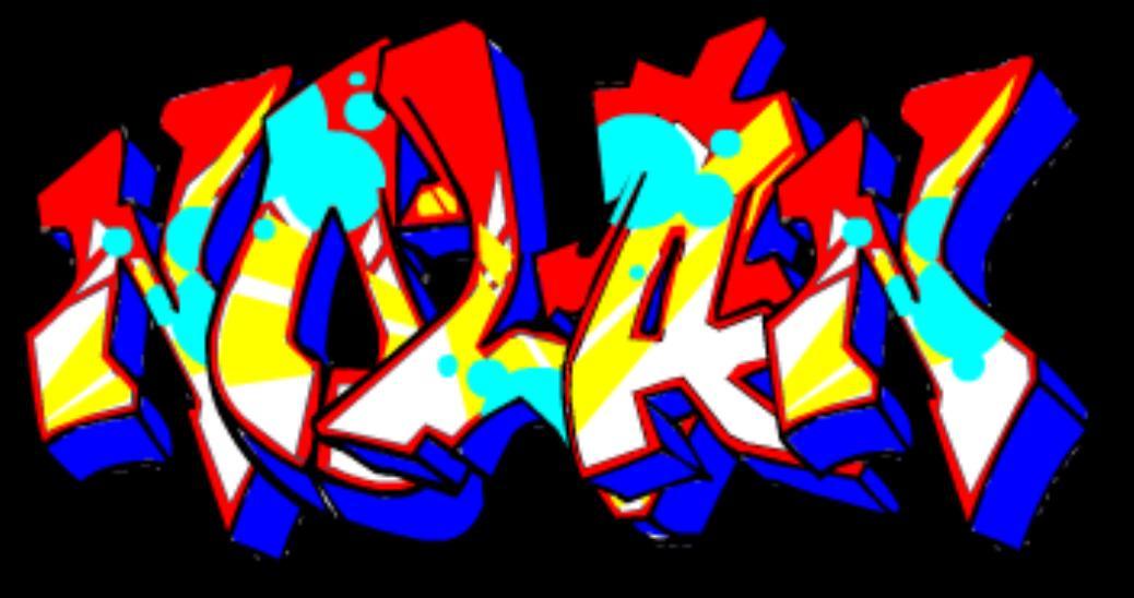 3D Graffiti Letters Designs