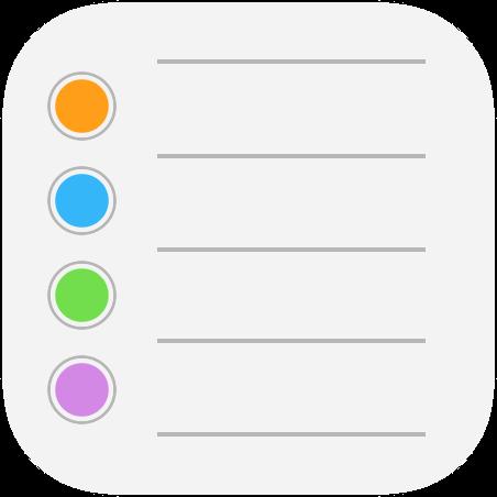 9 Reminders App iOS