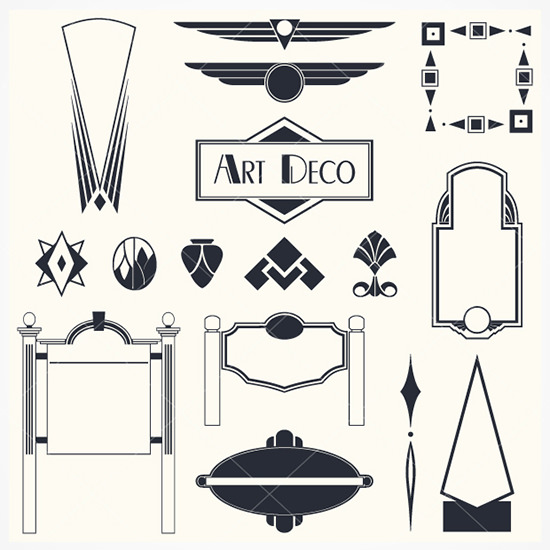 15 deco vector free images deco design elements deco borders clip and