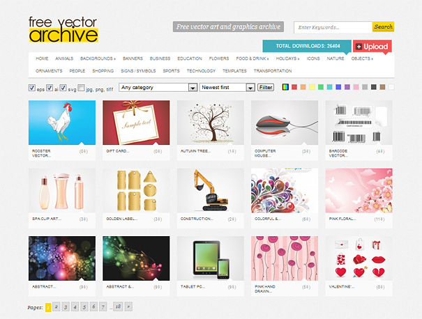 10 Free Vector Download Sites Images - Best Free Vector Sites ...