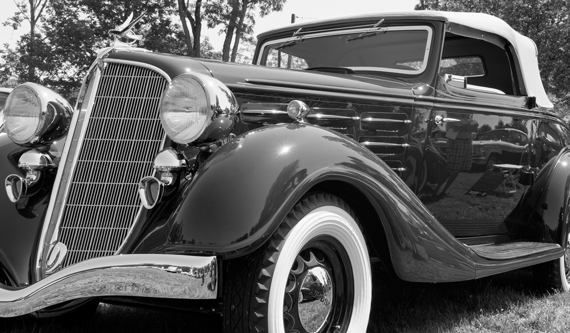 black and white old classic cars antique classic black