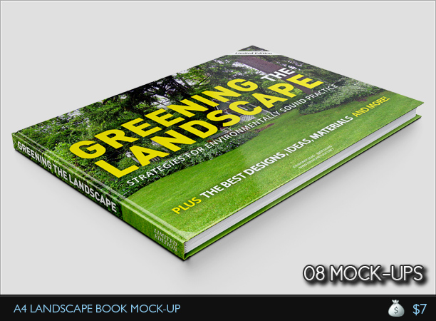 Book Cover Mock Up Template