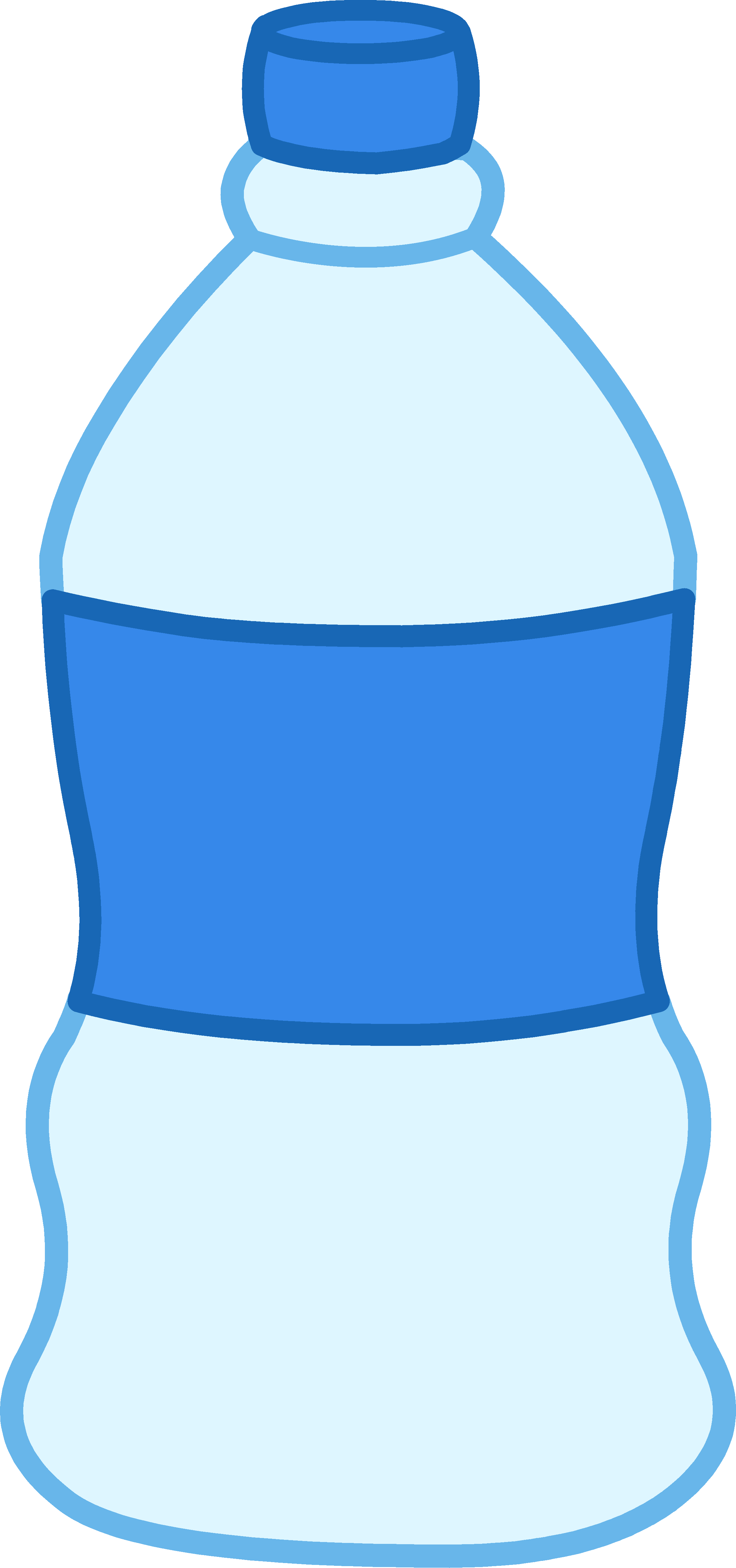 Cartoon Water Bottle Clip Art