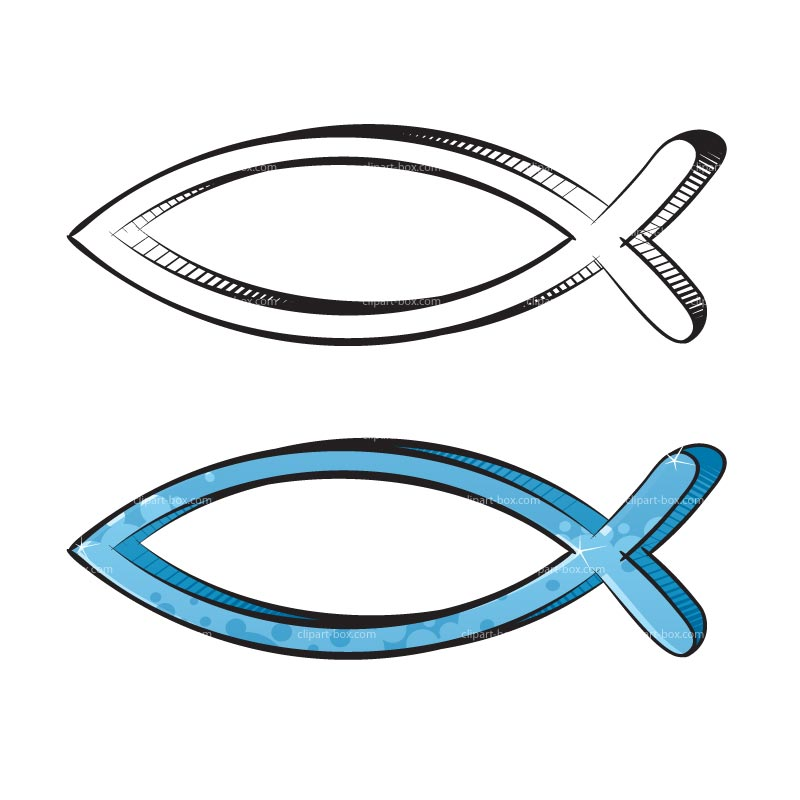 Christian Fish Symbol Clip Art