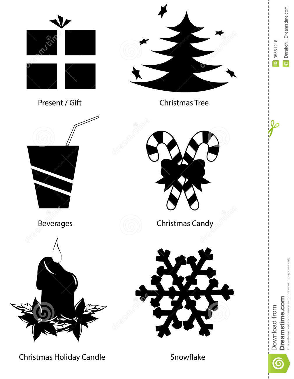 Black And White Christmas Clipart.16 Black Vector Art Christmas Images Christmas Tree Vector