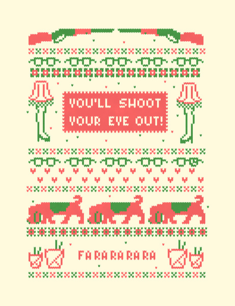 8 Ugly Sweater Vector Images