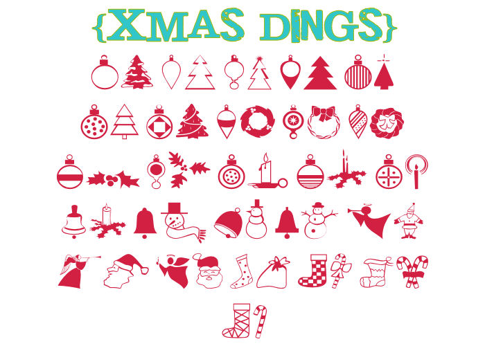 17 Free Font Wingdings Christmas Images