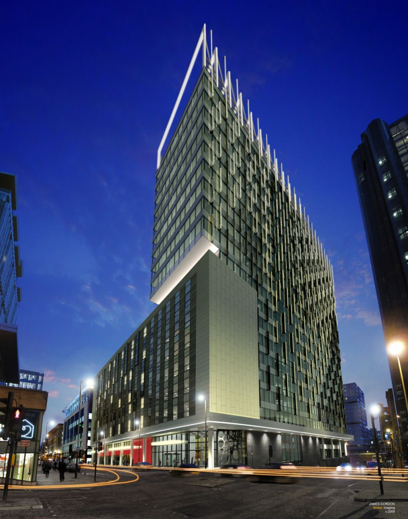 Commercial Building Exterior Design