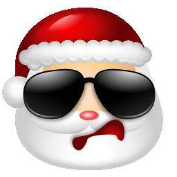 Cool Santa Icon