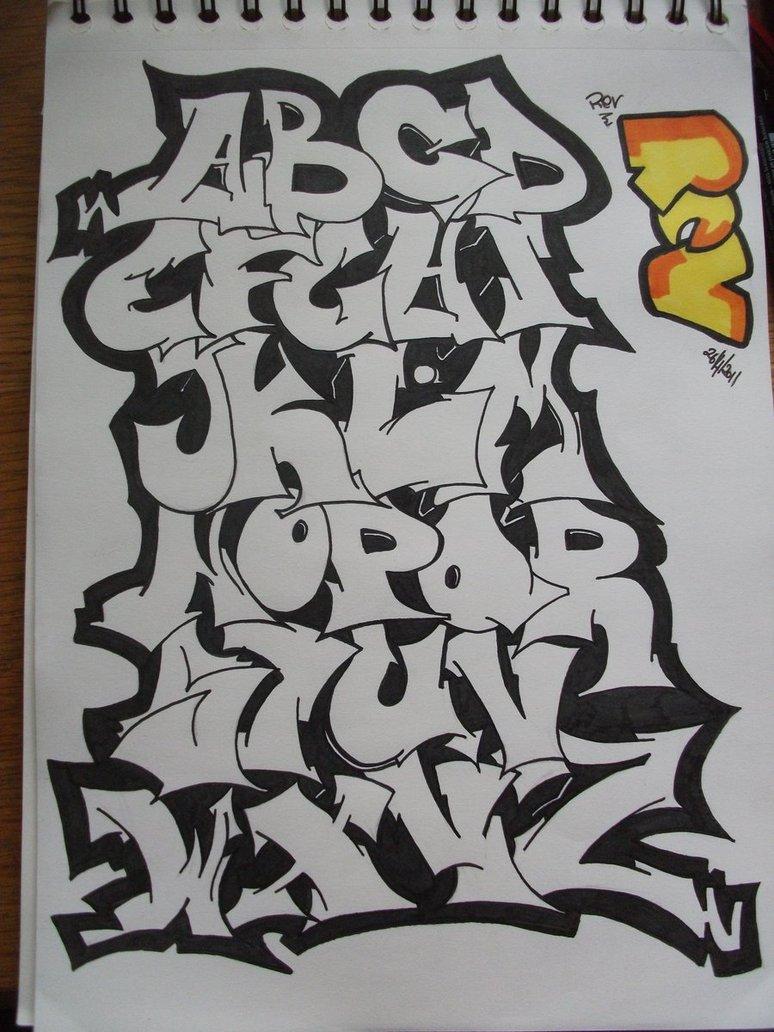 Design Graffiti Alphabets Letters