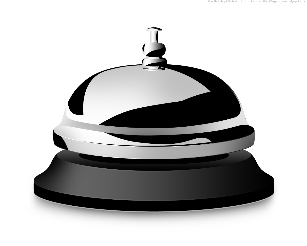 15 Desk Service Bell Icon Images