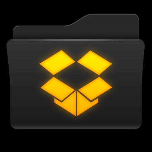 Dropbox File Folder Icon
