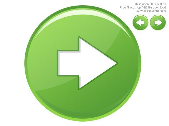 15 Web Navigation Button Icons Images
