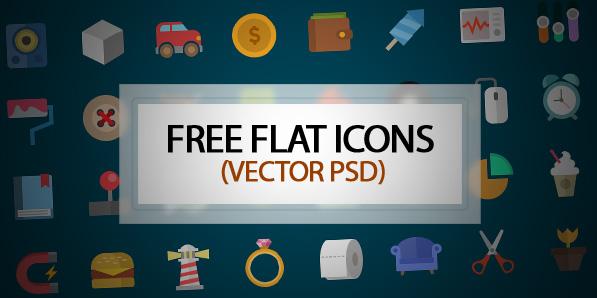 Flat Icons Free Download