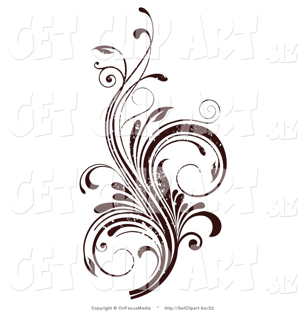 Flourish Design Clip Art