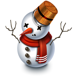 Free Christmas Snowman Icons