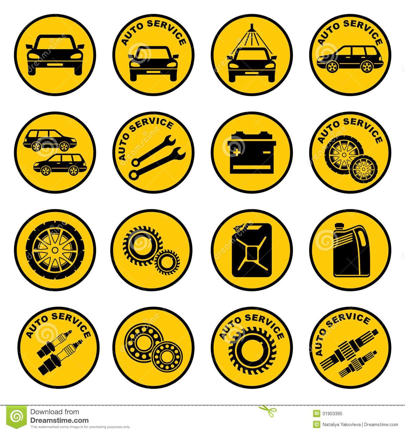 Free Icons Car Repair Service