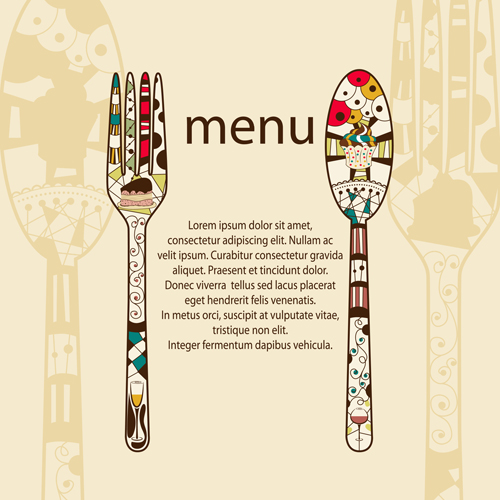 13 Restaurant Menu Design Free Download Images