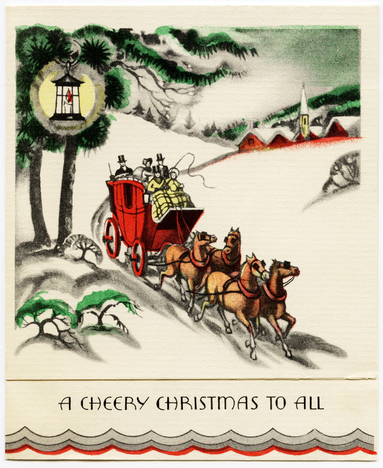 13 Vintage Christmas Card Graphics Free Images