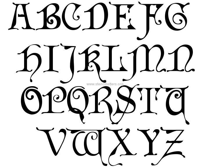 11 Large Fonts For Signs Images - Large Size Alphabet Letter