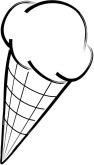 15 Ice Cream Cone Black And White Photography Images