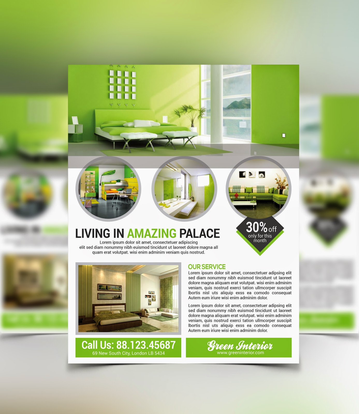 9 Large Images Of Flyers For Interior Design Companies PSD Images