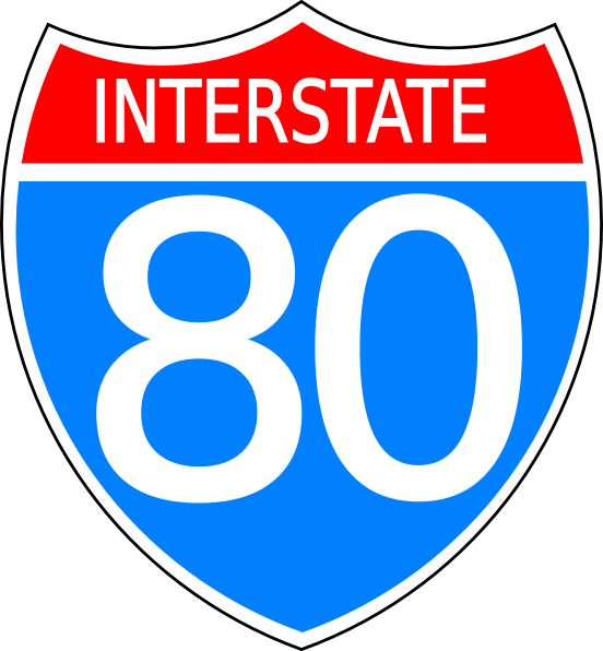 17 Interstate Sign Vector Images