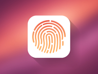 7 Touch ID PSD Images