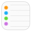 iOS Reminder App Icon