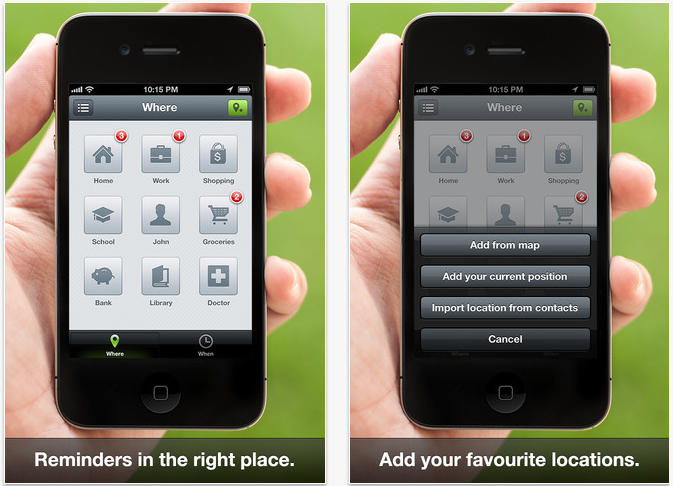 iPhone Reminder App