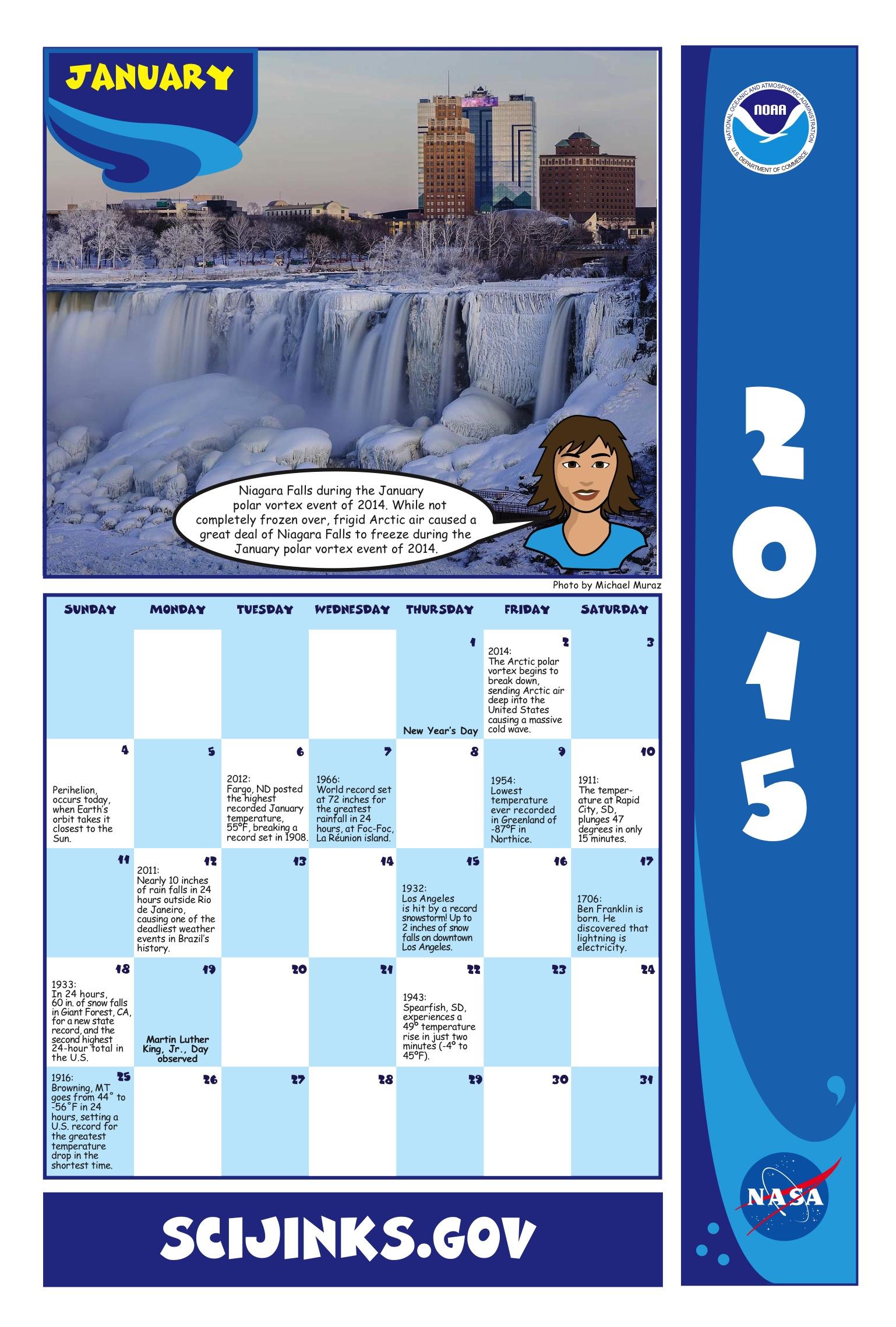 January February March Calendar 2015