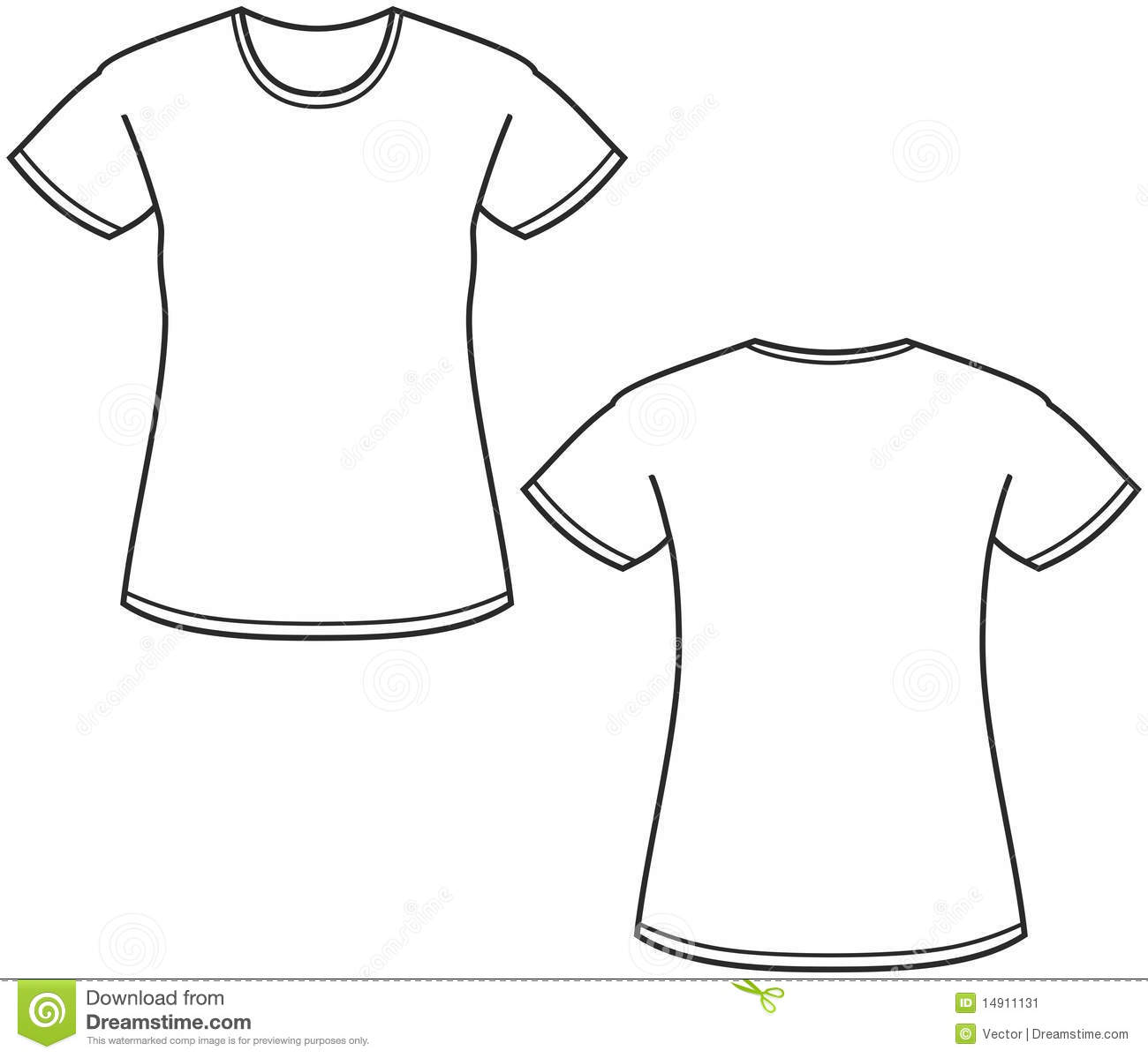 T Shirt Design Women Jersey Template