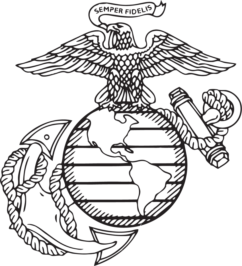 12 US Marines Logo Vector Art Images