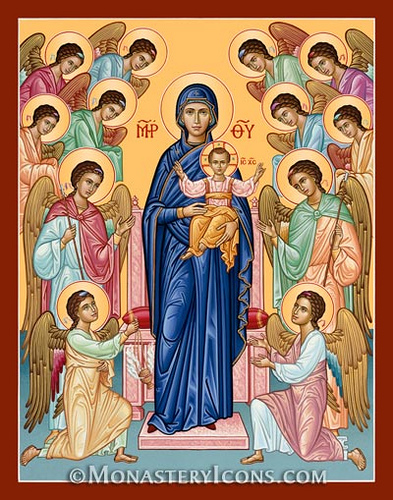 Mary Our Lady of Angels