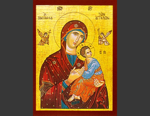 Mary Queen of Angels Icon
