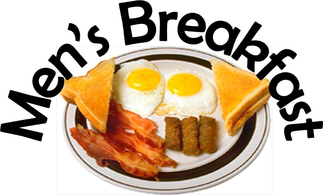 Men's Breakfast Clip Art