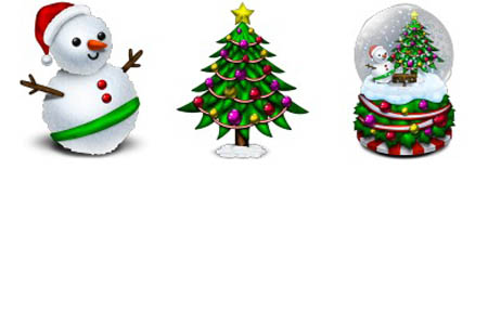 Merry Christmas Icons Free