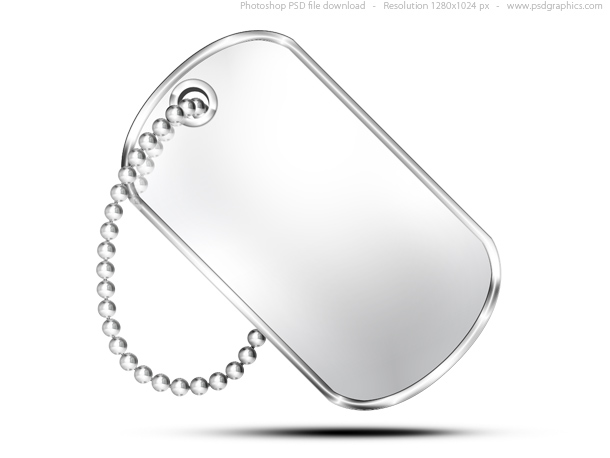 8 PSD Dog Tags For Dogs Images