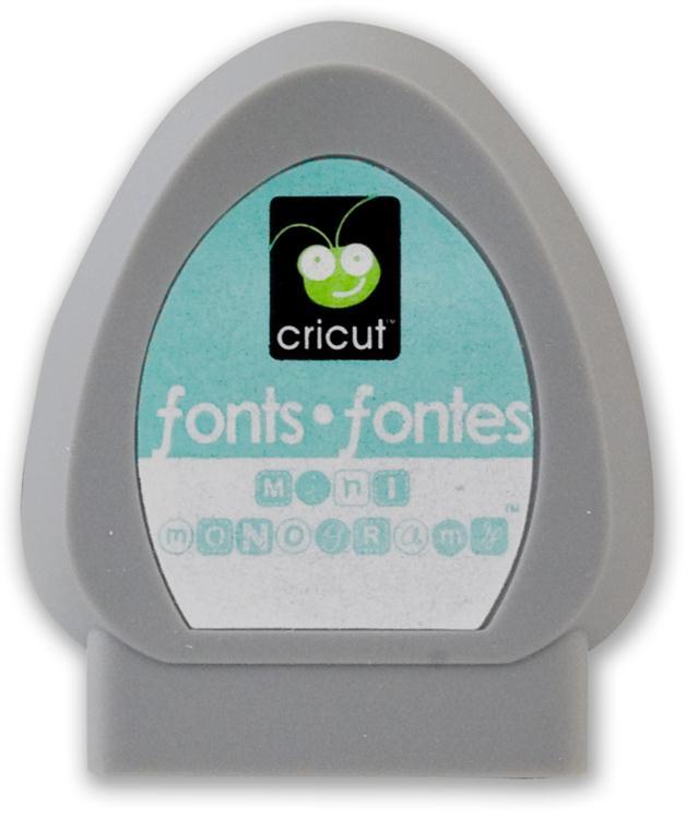 16 circle font for cricut images