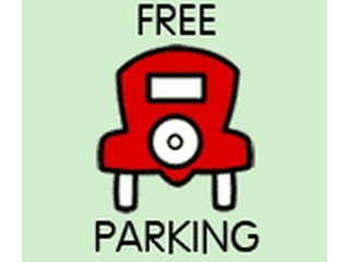 Monopoly Free Parking Sign