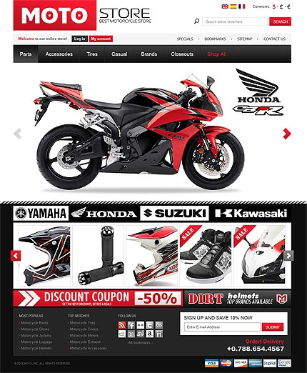 Motorcycle Templates Free